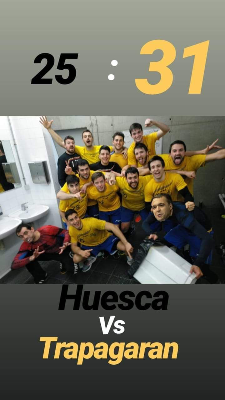 Huesca 25-Valle 31